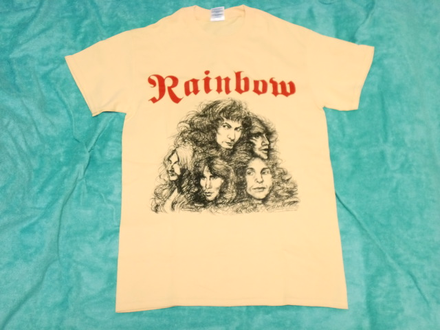 RAINBOW レインボー Tシャツ S バンドT ロックT ツアーT バビロンの城門