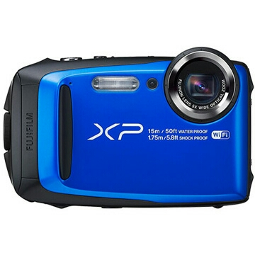 ★送料無料★【新品】富士フイルム FinePix XP90 FUJIFILM デジタルカメラ 防水カメラ ブルー FX-XP90BL