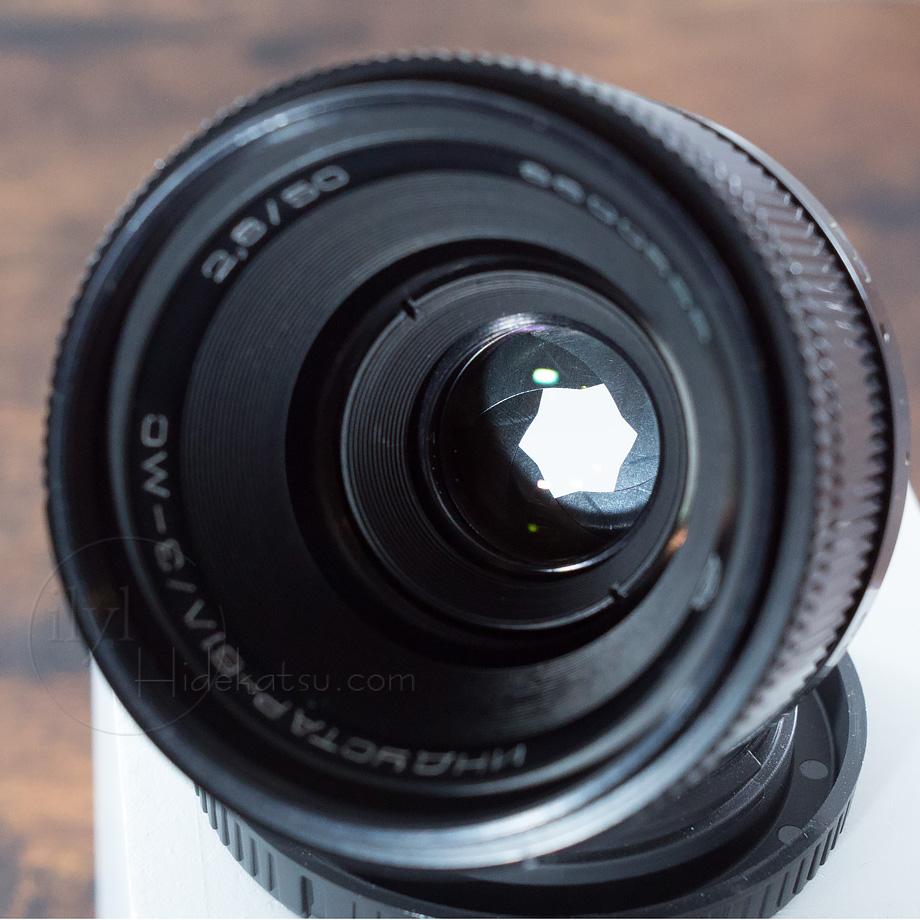 【写真家がリペア・いい状態】 星ボケのインダスター Industar-61 2.8/50mm キャノン用マウントほか各社カメラ用に変更できます。16i_画像3