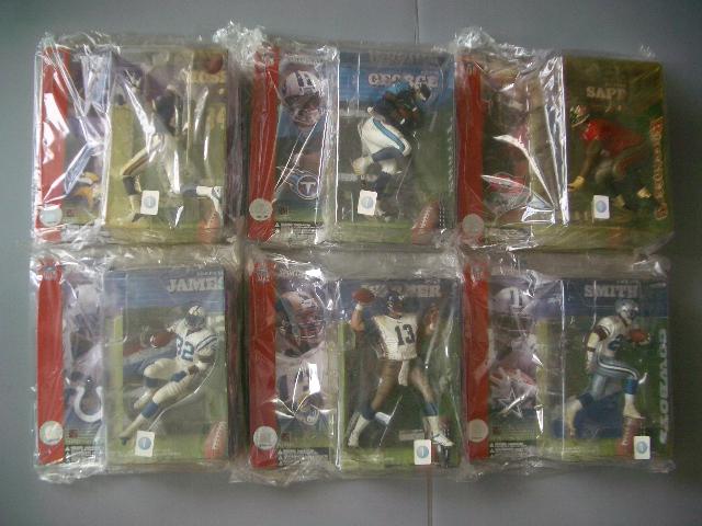 NFL マクファーレン シリーズ1&2 12体コンプリート フィギュア アメフト グッズの画像