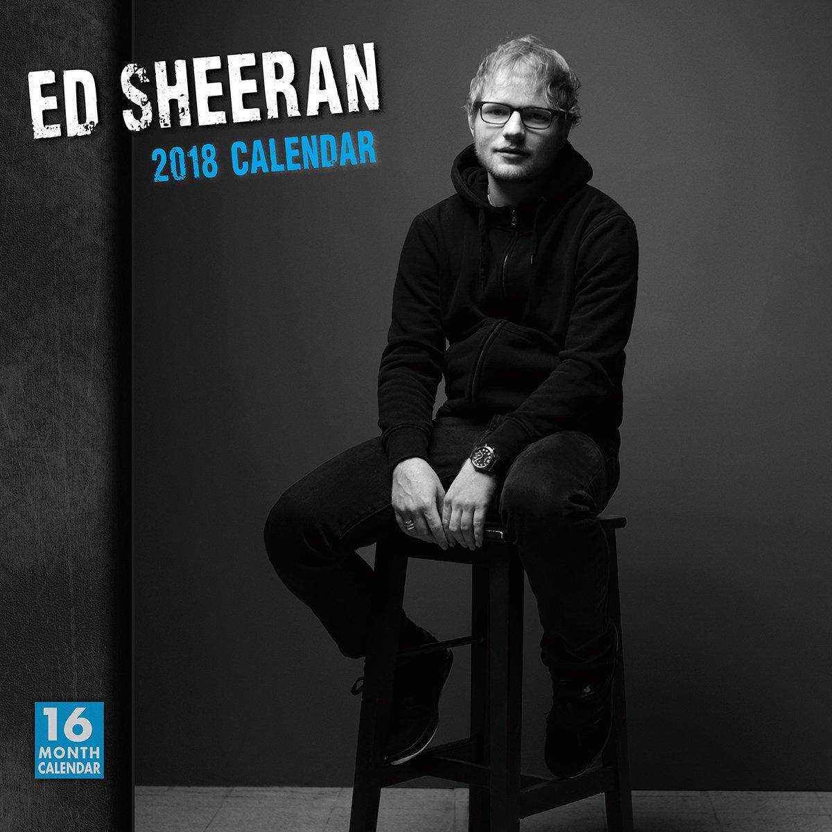 ★新品★送料無料★エド・シーラン Ed Sheeran ★2018 カレンダー★★