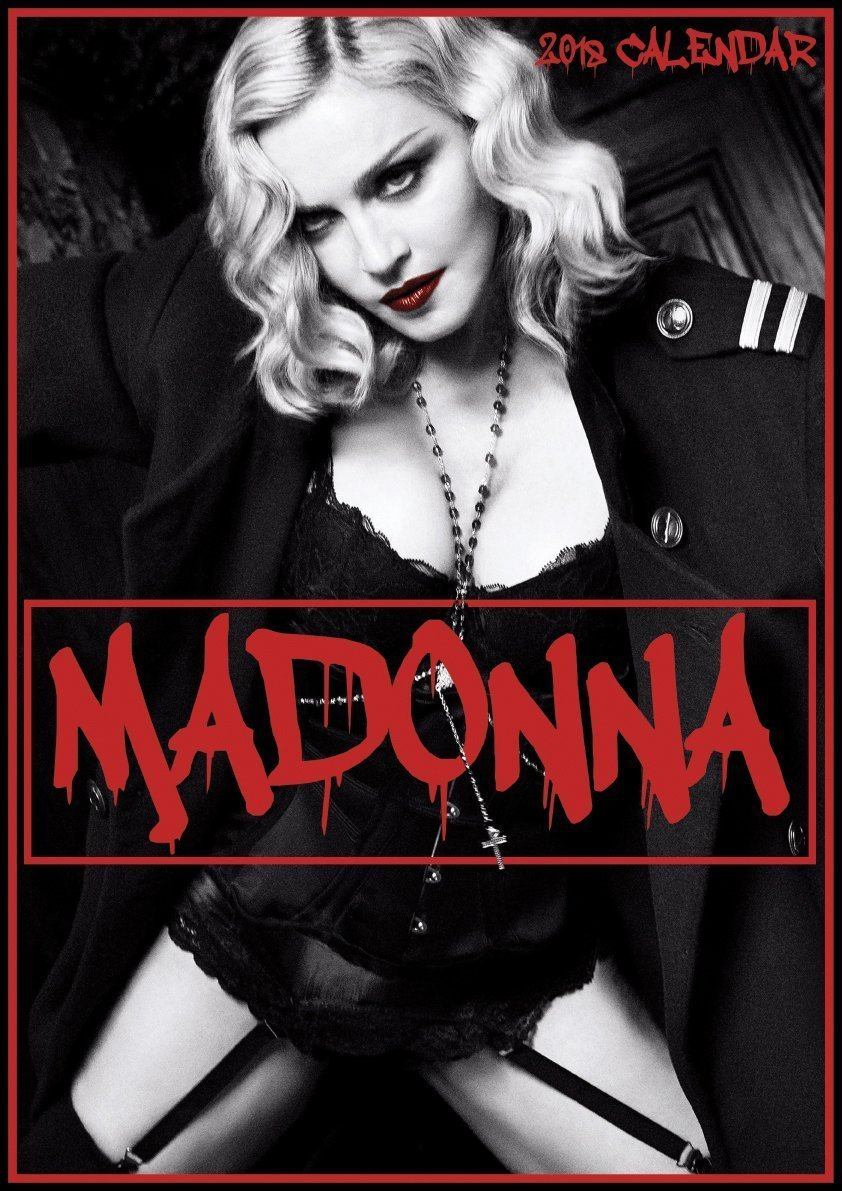 ★新品★送料無料★ Madonna マドンナ★2018 カレンダー★★
