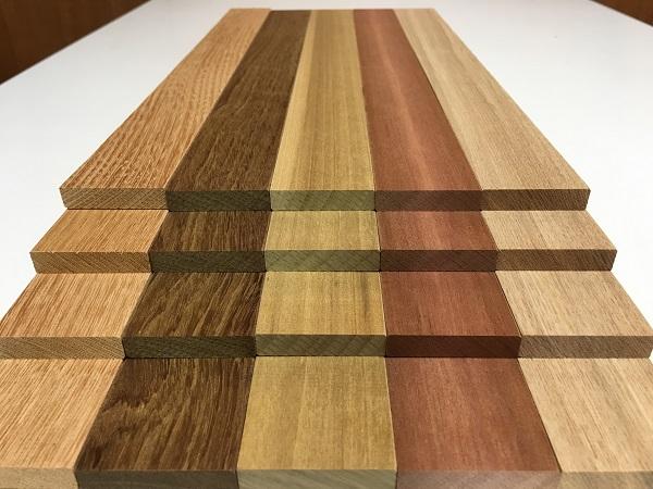送料無料 (同梱品も♪) ケヤキ チーク クス ニヤトー タモ 20枚 薄板 長400x39x9ミリ 木材 DIY 工作材 木工 クラフト