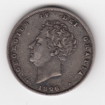 イギリス 1826年 Shilling @23