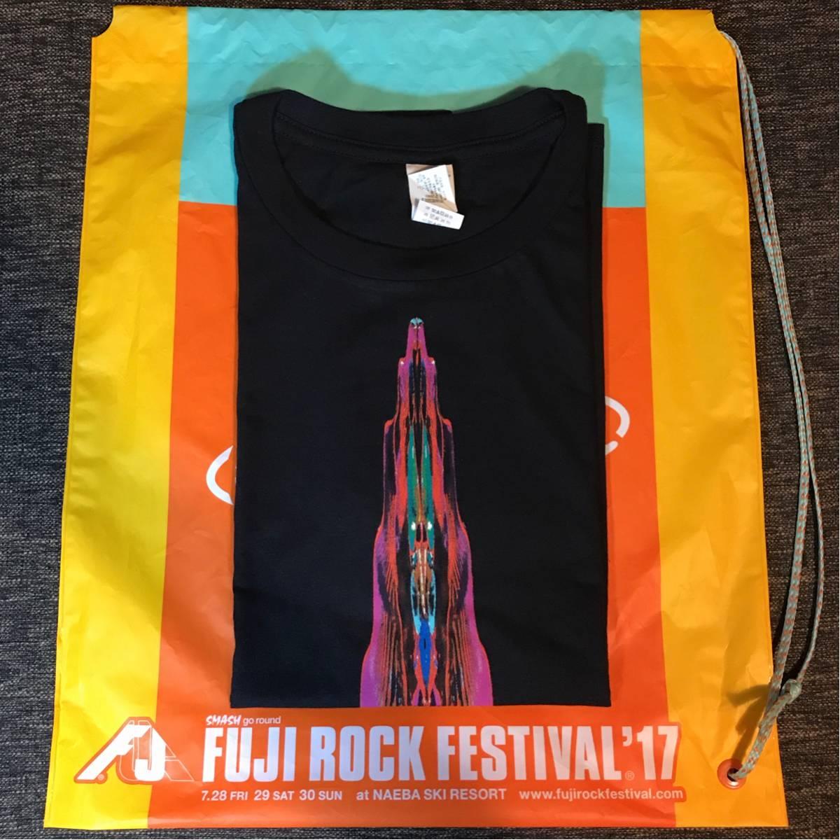 【新品/公式】Bjork ビョーク fujirock 2017 会場限定 Tシャツ 最新 T-SHIRTS Mサイズ 未使用 フジロック グッズ バンドT レディース