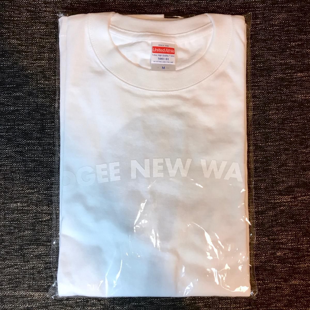 【新品/完売】YOGEE NEW WAVES ヨギーニューウェーブス Tシャツ M 未使用 フジロック2017 グッズ レディース メンズ suchimos ネバヤン