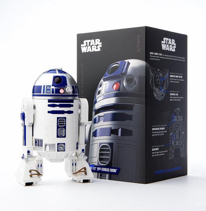 新品 未開封 正規購入 Sphero スターウォーズ R2-D2 APP-ENABLED DROID STARWARS ドロイド リモートコントロール 最新鋭機 グッズの画像