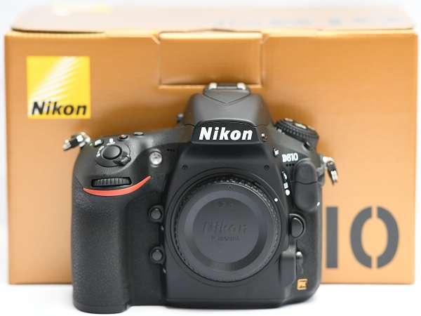 美品 Nikon D810 BODY 付属品完備 付属ストラップ未使用 FX ニコン ボディ フルサイズ 本体