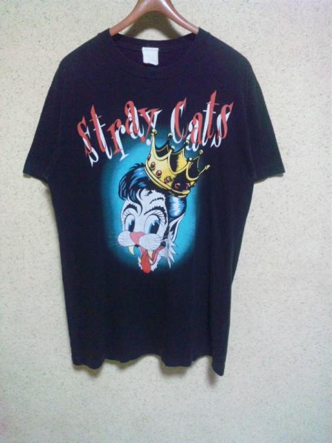 89年 STRAY CATS BLAST OFF TOUR Tシャツ ストレイキャッツ 80s