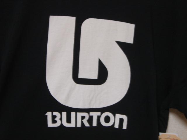 BURTON バートン 168371TB メンズS 半袖 ロゴ Tシャツ LOGO VERTICAL SS TEE コットン100% スリムフィット 黒 【最大20%OFF 送料無料】_画像3