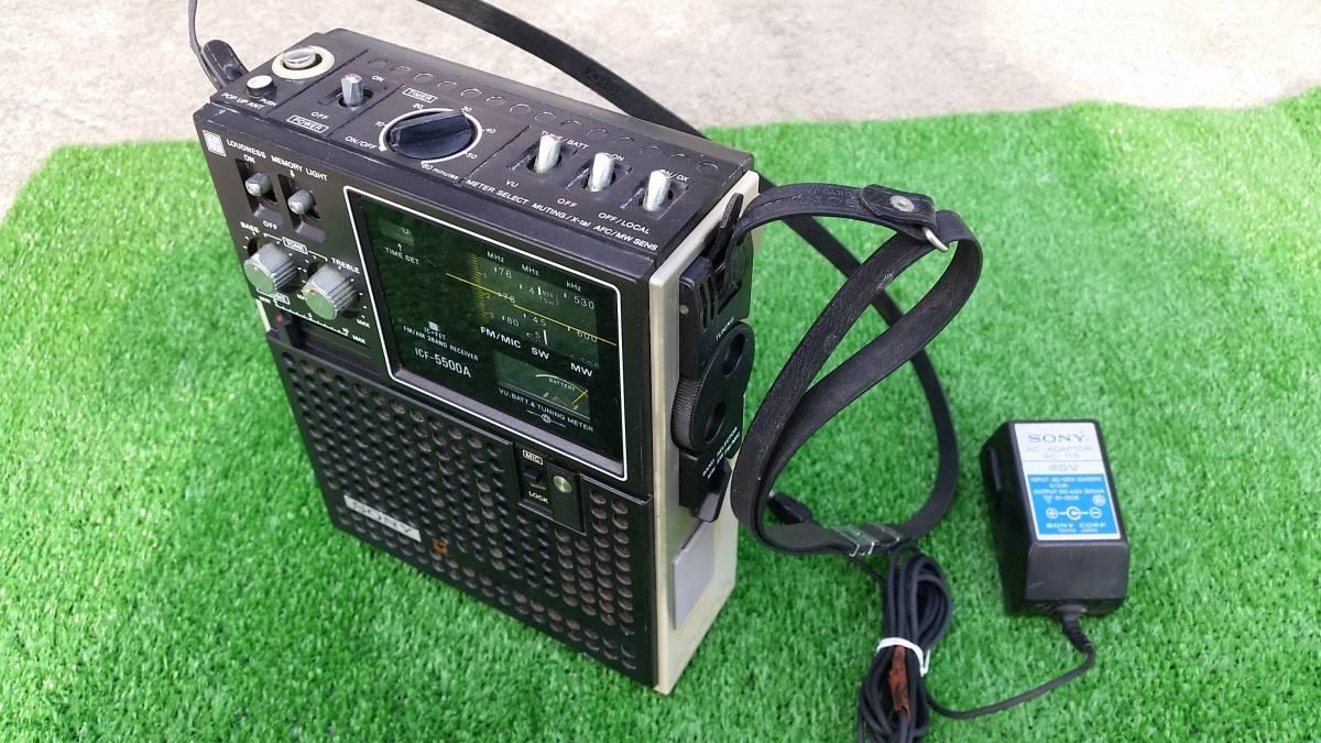 SONY ソニー スカイセンサー ICF-5500 ジャンク_画像3