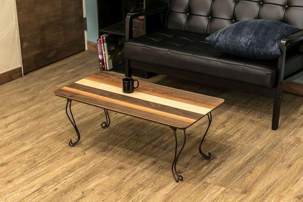 センターテーブル ローテーブル 折りたたみ 折れ脚 幅80cm 奥行40cm 高さ31.5cm 軽量 猫脚 長方形 モダン おしゃれ 女性に人気 送料無料