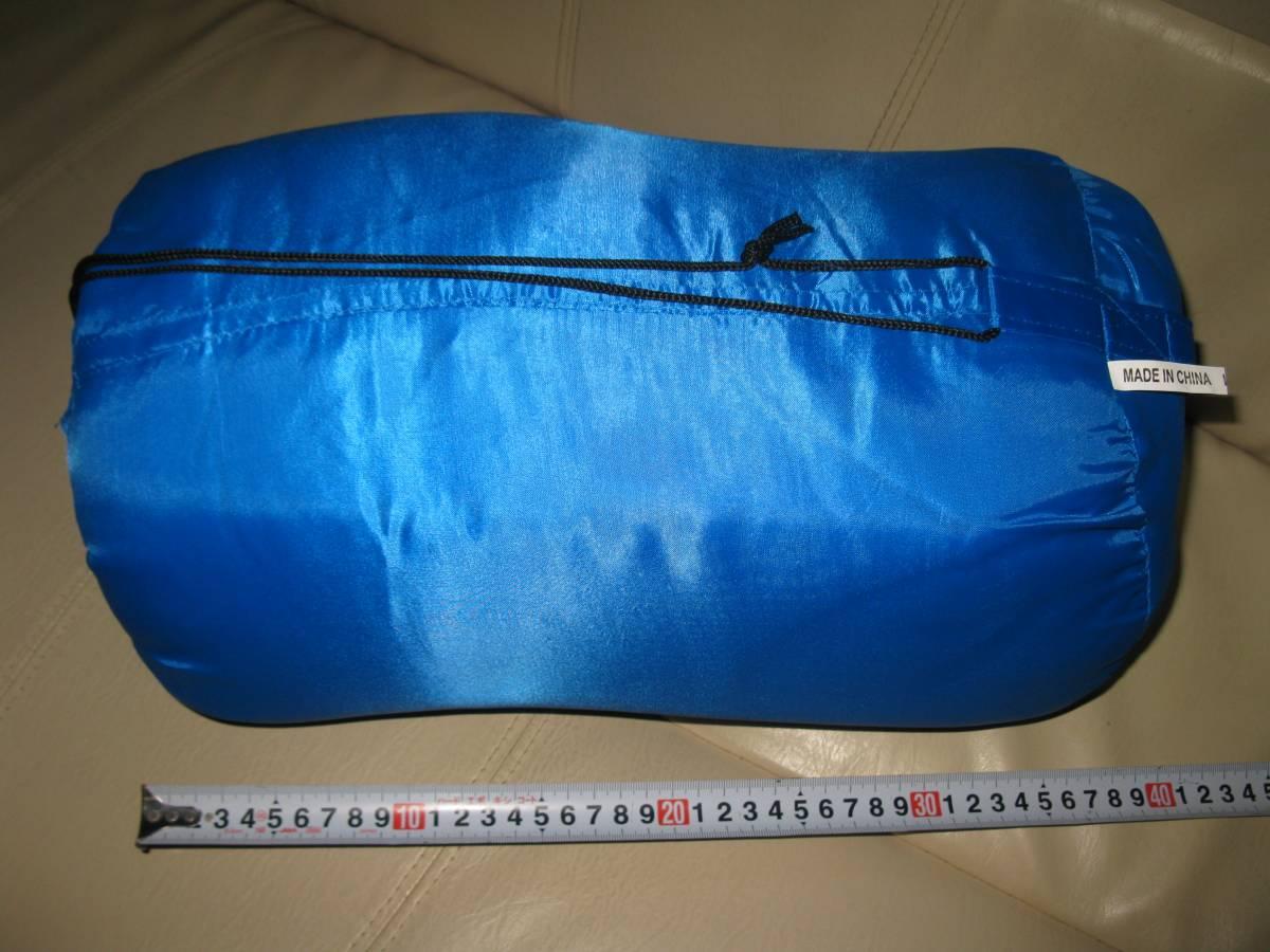 スリーピングバッグ 寝袋 シュラフ 防災用品 車中泊 新品未使用_画像1