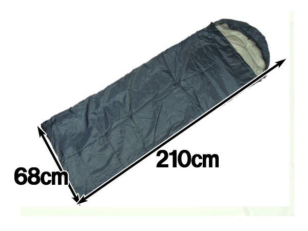 スリーピングバッグ 寝袋 シュラフ 防災用品 車中泊 新品未使用_画像2