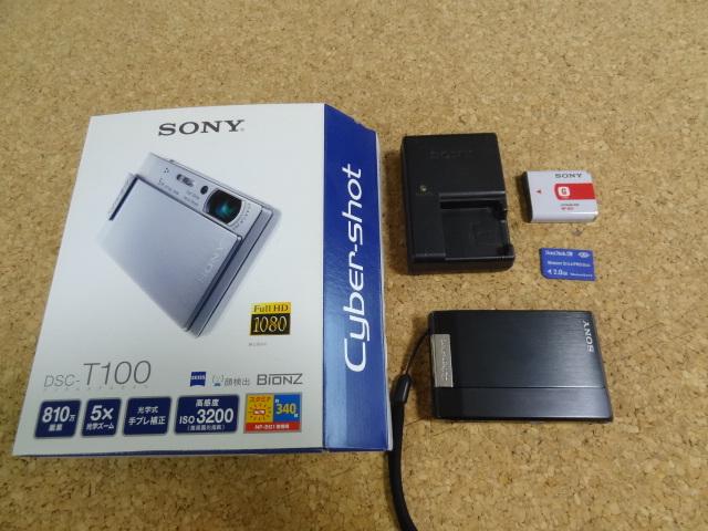 ★SONY DSC-T100★Cyber-shot サイバーショット