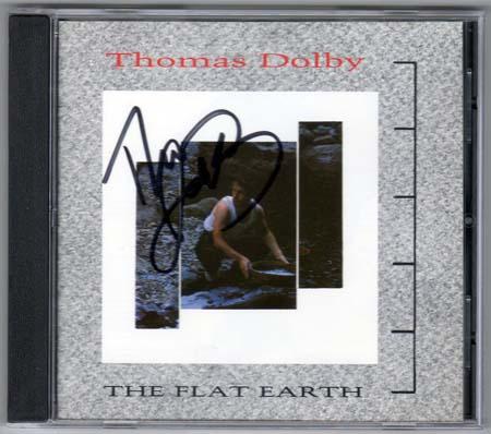 ◎◎◎ Thomas Dolby トーマス・ドルビー 直筆サイン CD ◎◎◎