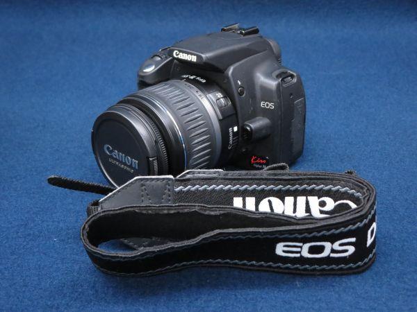 ★Camera44 Canon EOS Kiss Digital N+CANON ZOOM LENS EF-S 18-55mm 1:3.5-5.6 Ⅱ USM★キャノン/消費税0円