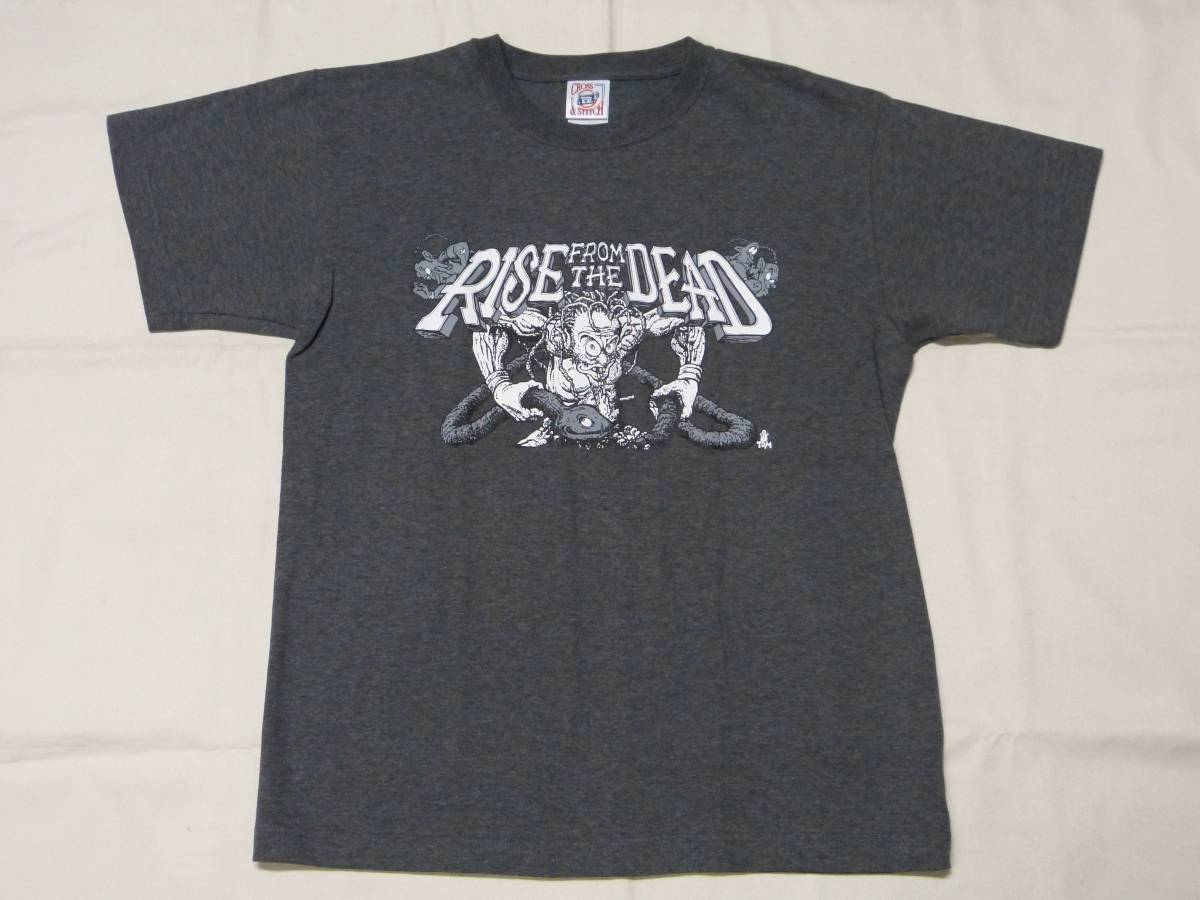 RISE FROM THE DEAD Tシャツ 貴重 DISCLOSE SDS GLOOM BASTARD ACID DISCHARGE CRASS CHAOS UK DISORDER LOS CRUDOS CRUST パンク 666 GISM