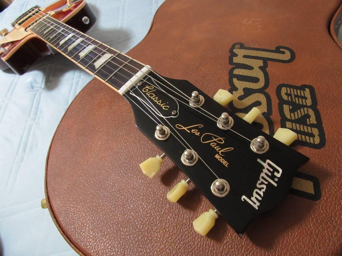 値下げ!Gibson Lespaul Classic 2014 120th アニバーサリー ギブソン レスポール ヘリテイジチェリーサンバースト_画像3