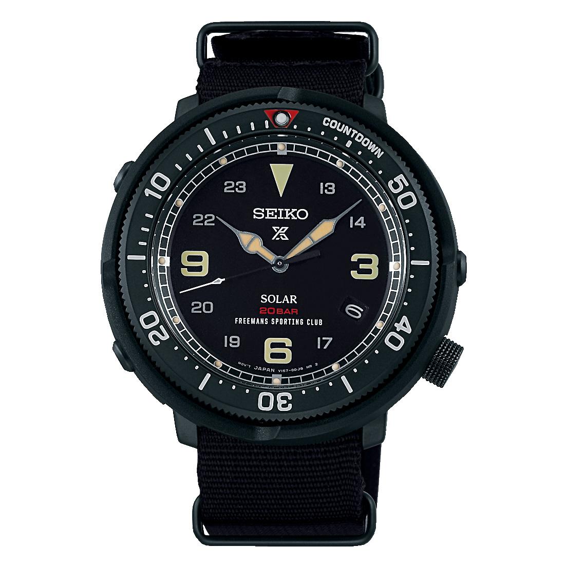 【限定700本】SEIKO Prospex Fieldmaster LOWERCASE Limited Edition Freemans Sporting Club Exclusive Model 品番:SBDJ025