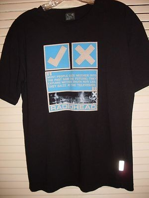 【 90's RADIOHEAD UK TELEVISION 1999 W.A.S.T.E. VINTAGE LIMITED OFFICIAL T-SHIRT 】レディオヘッド ヴィンテージ Tシャツ L ★特典付!