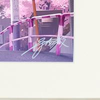 ANIPLEX+『冴えない彼女の育てかた♭』直筆サイン入り 深崎暮人イラスト A3プリモアート/複製原画 加藤恵 キャラファイングラフ_画像2