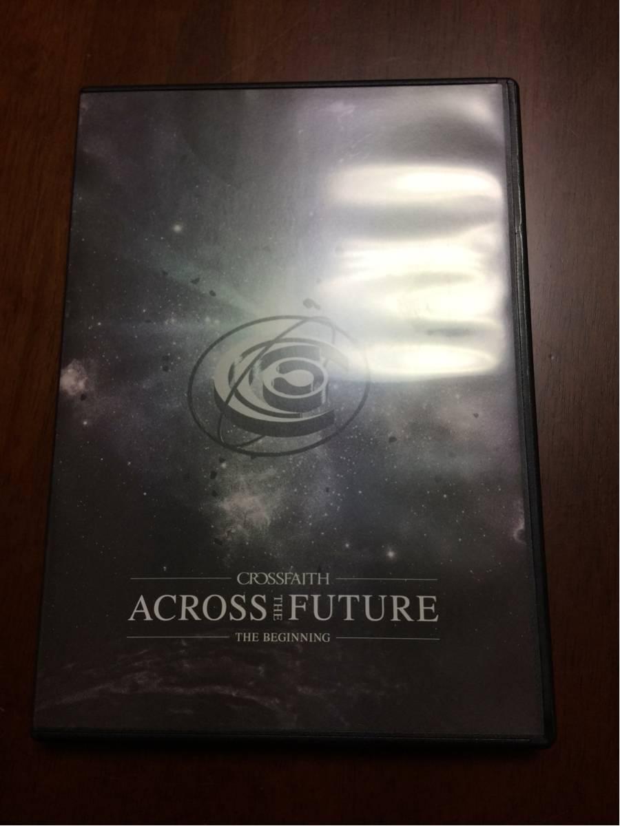 CROSSFAITH ACROSS THE FUTURE DVD ライブグッズの画像