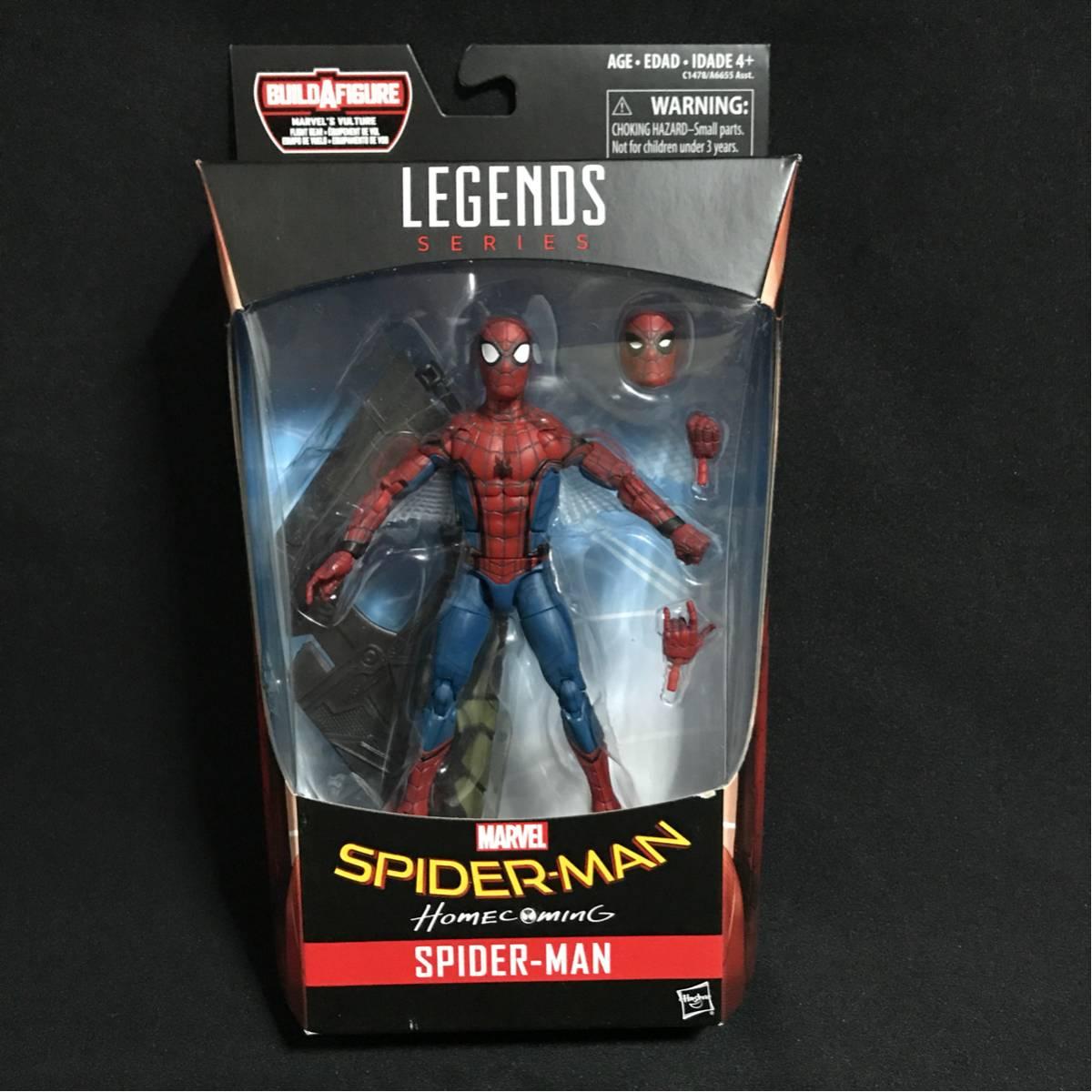 マーベルレジェンド ホームカミング スパイダーマン グッズの画像
