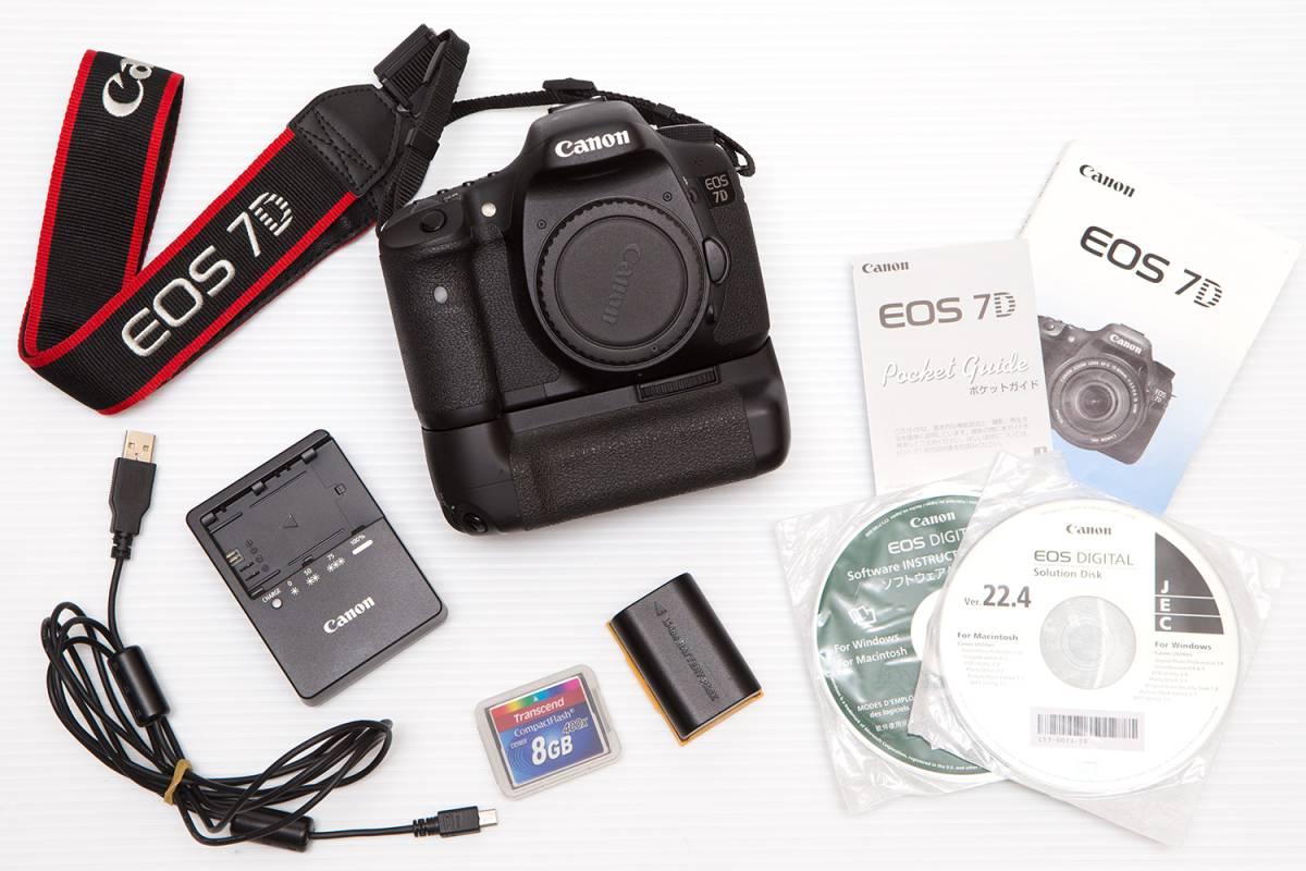 EOS 7D 美品 バッテリーグリップ付き 他おまけ有