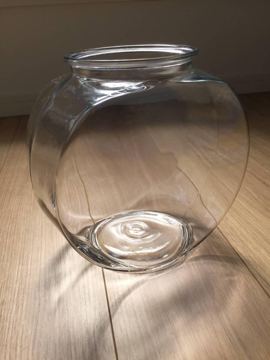 太鼓型 金魚鉢 花瓶 フラワーベース ガラス 透明 イデー UNICO 無印良品 ACTUS コンランショップ