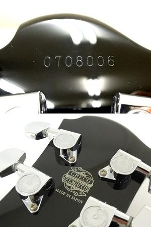 美品 中古 ZEMAITIS GZ2600IF/LH BK ゼマイティス シェルインレイ マザーオブパール 音楽 楽器 エレキ ギター O2567710_画像5