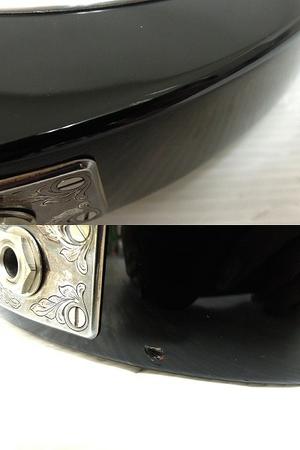 美品 中古 ZEMAITIS GZ2600IF/LH BK ゼマイティス シェルインレイ マザーオブパール 音楽 楽器 エレキ ギター O2567710_画像10