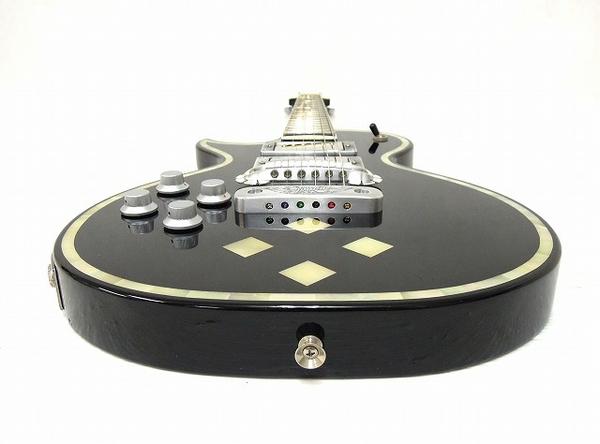美品 中古 ZEMAITIS GZ2600IF/LH BK ゼマイティス シェルインレイ マザーオブパール 音楽 楽器 エレキ ギター O2567710_画像9