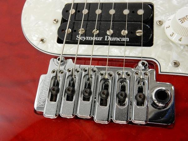 美品 中古 FUJIGEN フジゲン EXPERT OS/QM EOS/QM エレキ ギター 楽器 演奏 ケース付 S2412263_画像7