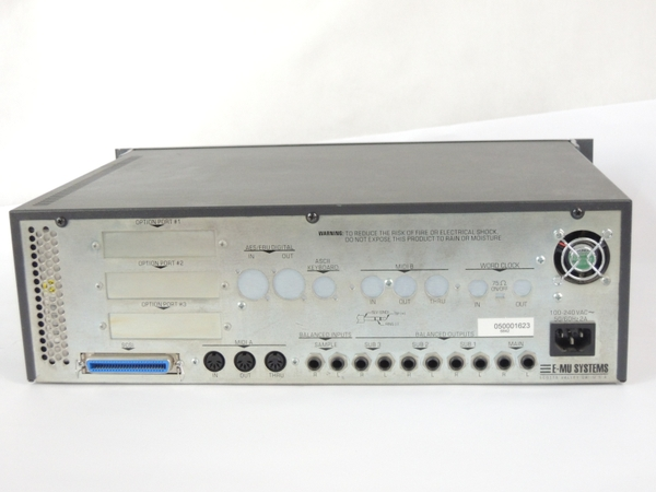 ジャンク E-MU E6400 ULTRA サンプラー 楽器 Y2666016_画像9