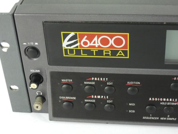 ジャンク E-MU E6400 ULTRA サンプラー 楽器 Y2666016_画像2