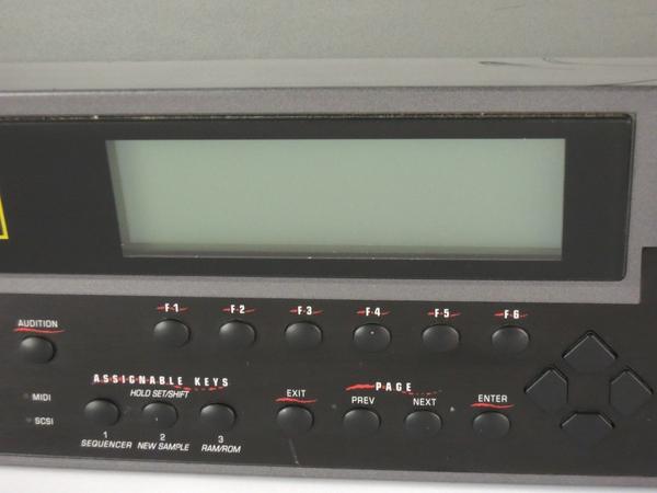 ジャンク E-MU E6400 ULTRA サンプラー 楽器 Y2666016_画像3
