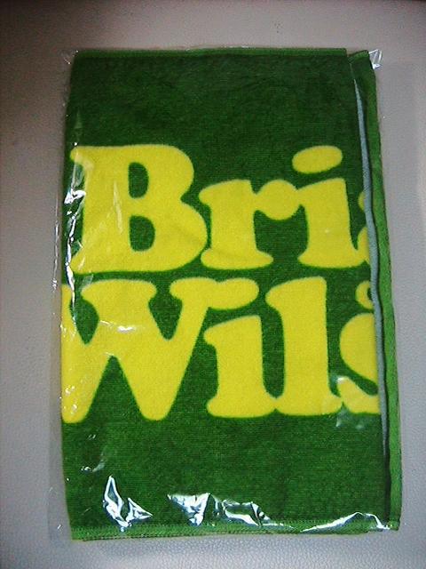 Brian Wilson☆ Pet Sounds 50周年記念Tour ☆タオル