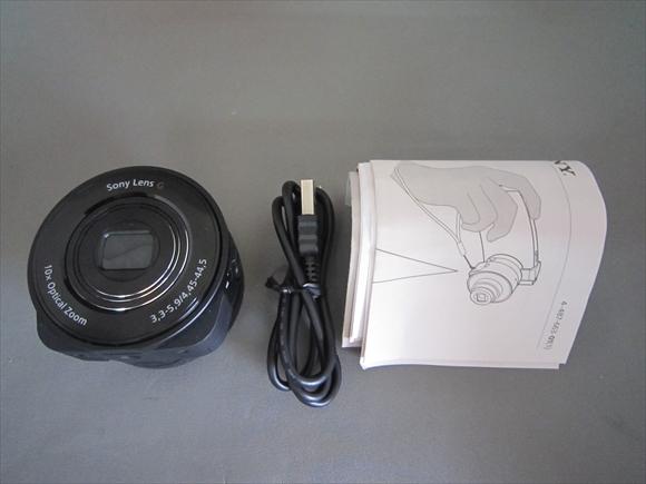 SONY DSC-QX10 サイバーショット DSC-QX10 デジカメ 現状品_画像2