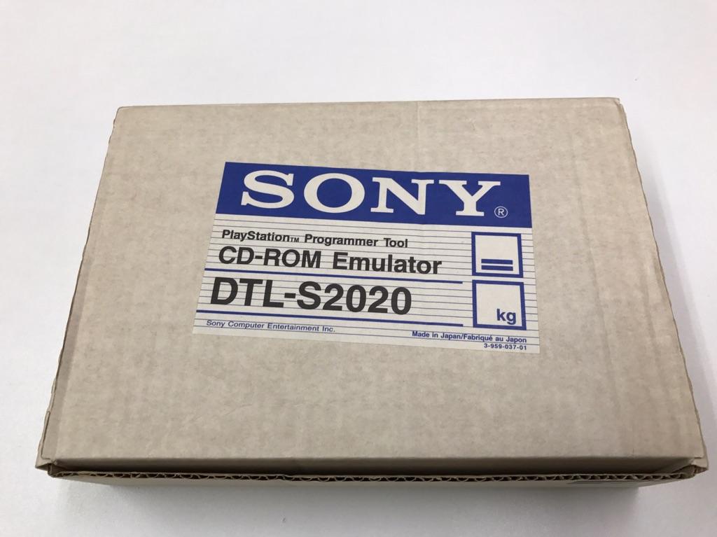 PLAYSTATION DEV TOOL DTL-S2020 開発用CD-ROM EMULATOR エミュレータ_画像3
