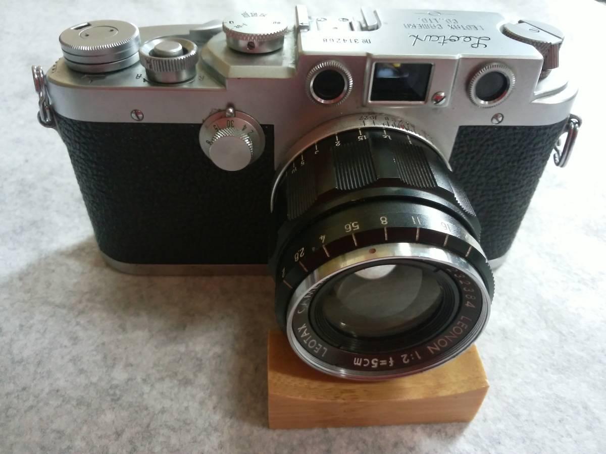 LEOTAX カメラ 1:2 f=5cm LEONON カメラ一眼レフ №314268_画像1