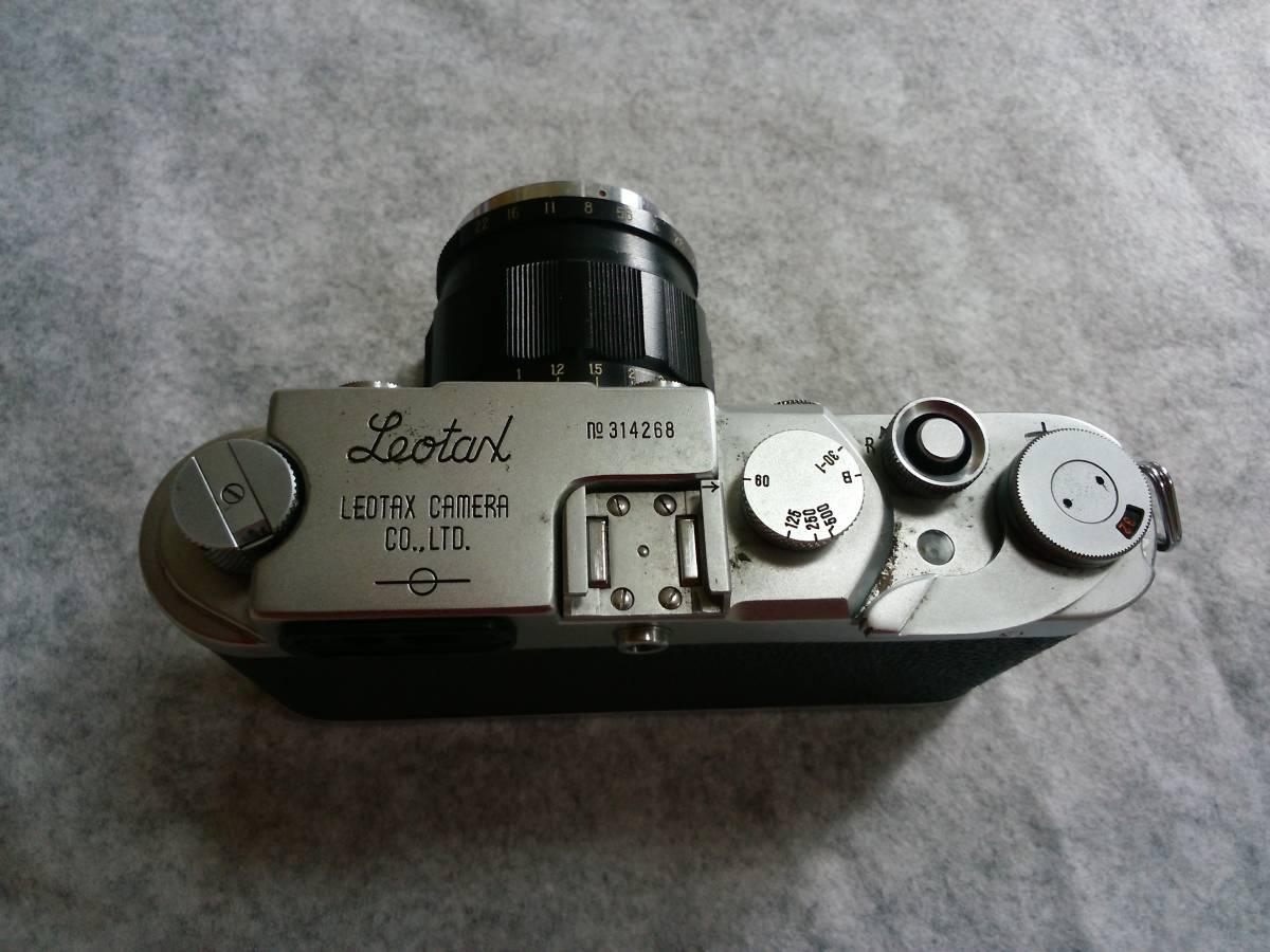 LEOTAX カメラ 1:2 f=5cm LEONON カメラ一眼レフ №314268_画像2