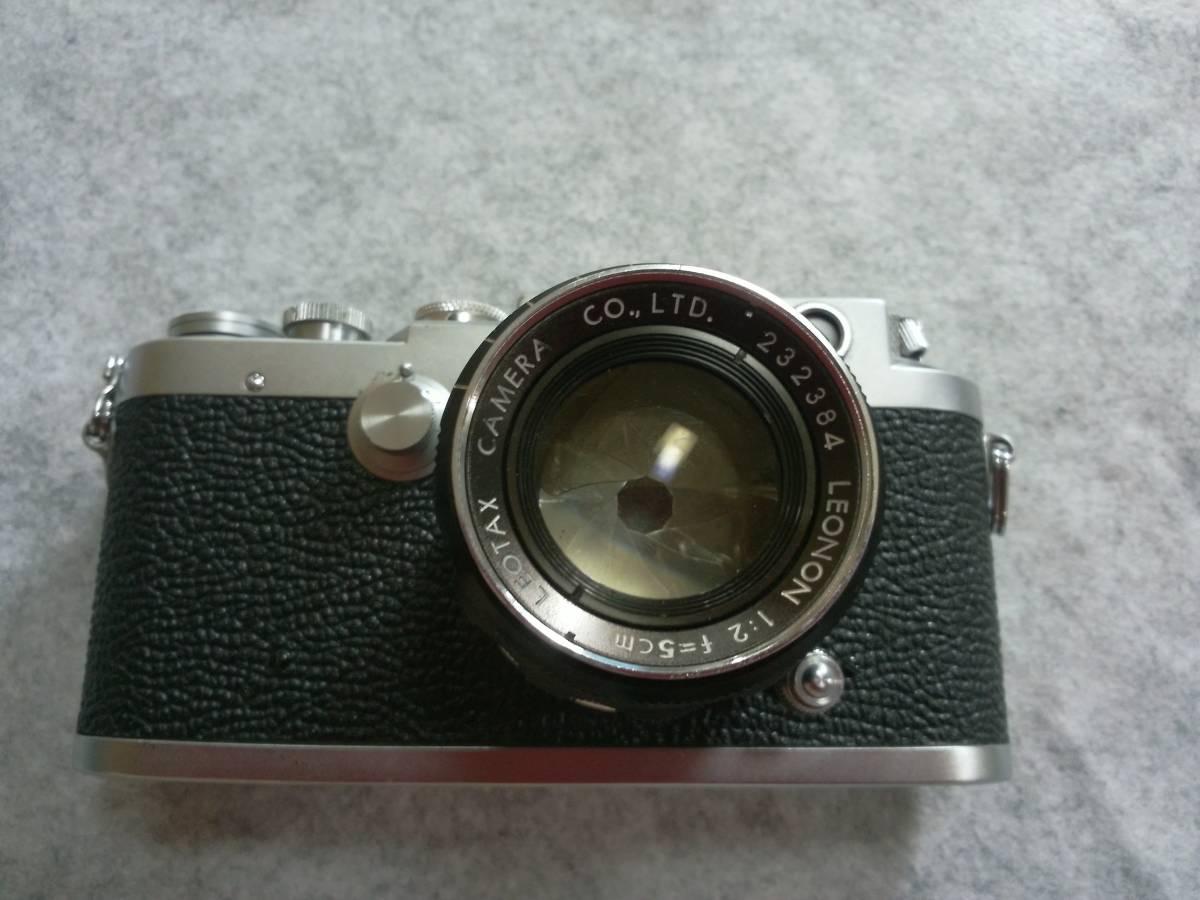 LEOTAX カメラ 1:2 f=5cm LEONON カメラ一眼レフ №314268_画像3