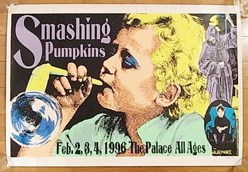 ■FRANK KOZIK限定Smashing Pumpkinsシルクスクリーンポスター1996コジック スマッシングパンプキンズ