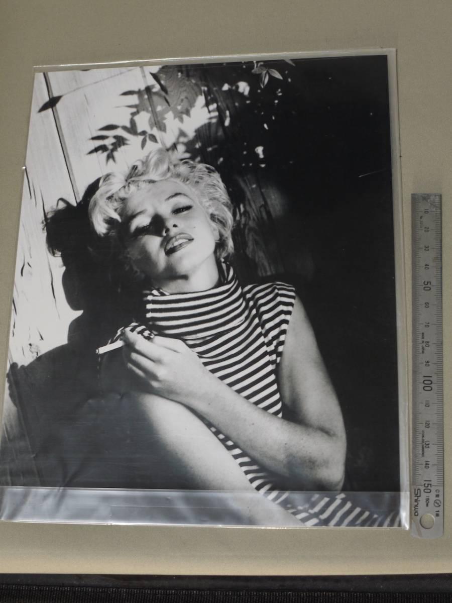 マリリンモンロー モノクロ写真 スチール写真 保管品 グッズの画像