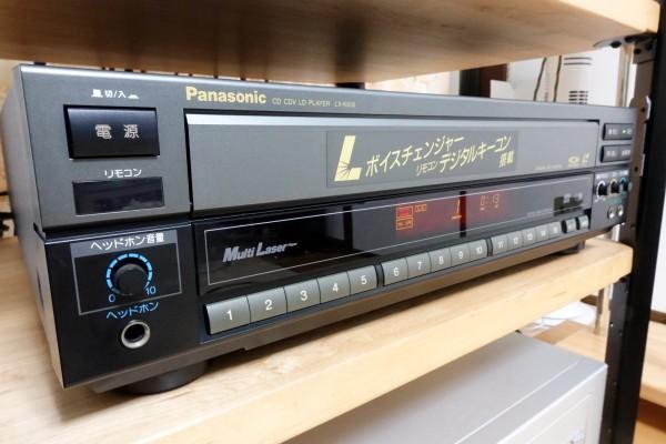 極上 パナソニック Panasonic LD カラオケ LX-K630 メンテナンス済み 1円~