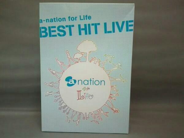 a-nation for Life BEST HIT LIVE(初回限定版) ライブグッズの画像