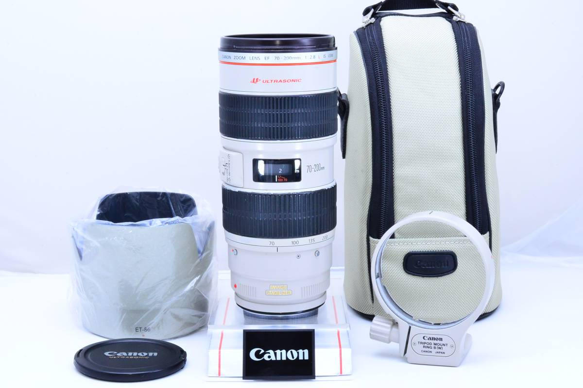 ★Lの銘玉★Canon キヤノン EF70-200mm F2.8L IS USM