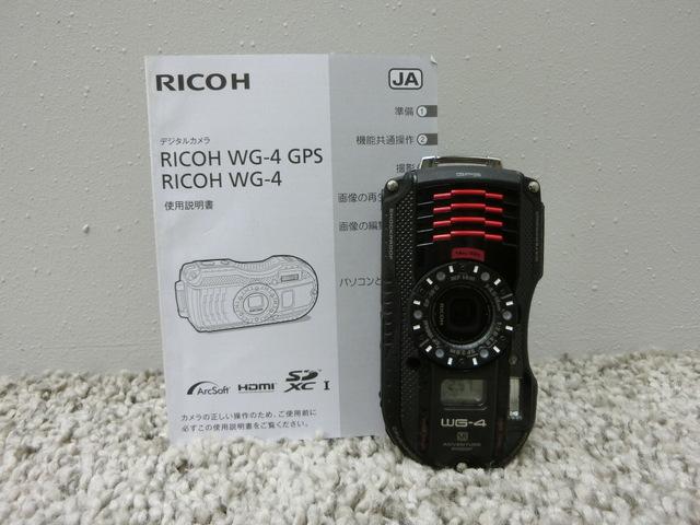◆良品/RICOH/タフネスカメラ/WG-4 GPS/防水/リコー◆