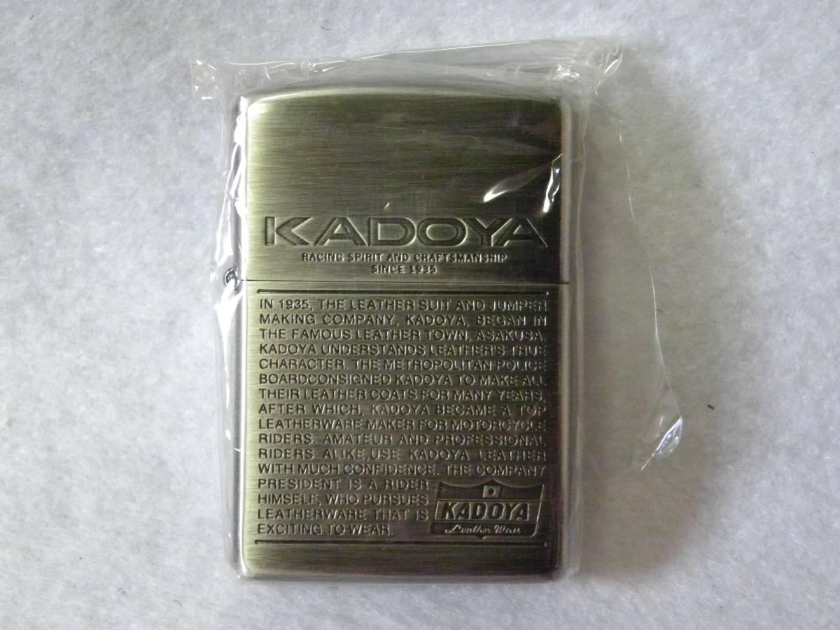 送料無料★zippo KADOYA カドヤデザイン 箱付き★新品未使用